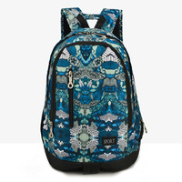 New Backpack With Fashion Flower Men S Camouflage Shoulder Bag Women S Backpack Bags Waterproof Durable