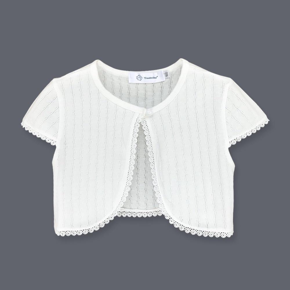 17bfc056c Youbeika Baby Cardigan Sweaters Cotton Thin Short Sleeve Kids Girl ...
