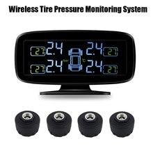 Tire Stress Monitor System TPMS with exterior Sensors (4pcs sensor)