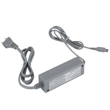 For Nintendo Wii U Gamepad US Plug 100 240V Home Wall Power Supply AC Charger Adapter