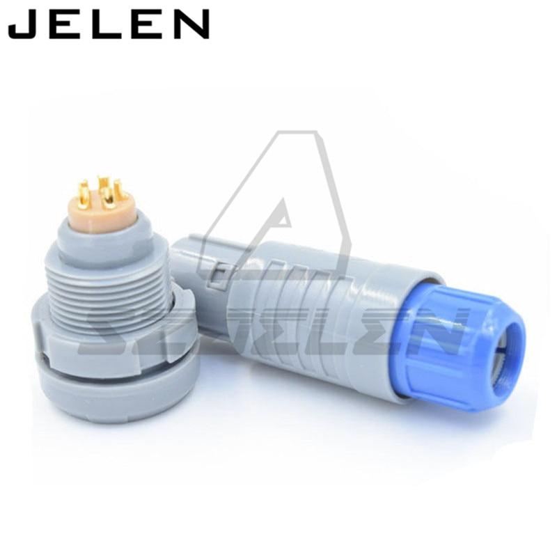SZJELEN connectors 2p-serie 10pin connector, CAB.M10.GLA.CxxG CKB.M10.GLLG ,LED connectors, Medical equipment cable plugs
