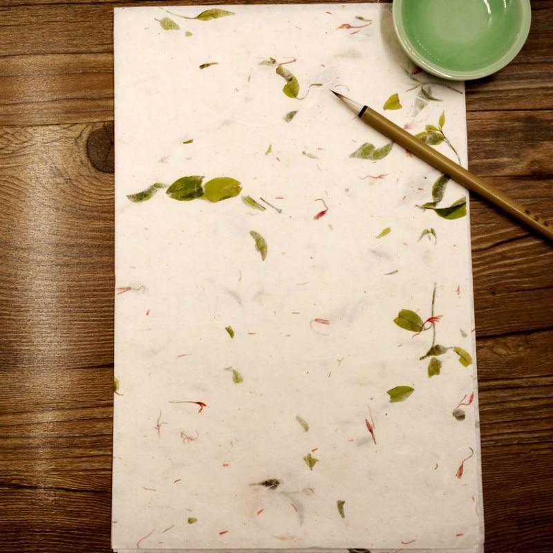 Pintura de Paisagem Escrita Meio-maduro Papel Xuan Chinês