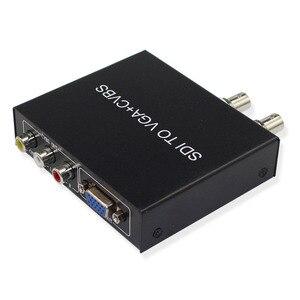 Image 3 - SDI (SD SDI/HD SDI/3G SDI) a VGA + CVBS/AV + SDI Convertitore di Supporto 1080P per il Monitor/Macchina Fotografica/Display di Trasporto libero