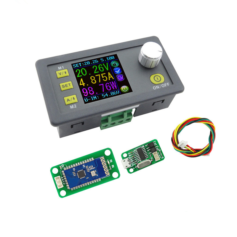 DPS5005 LCD converter Regolabile Tensione current meter Regolatore Programmabile Modulo di Alimentazione Buck Voltmetro Amperometro 40% di sconto