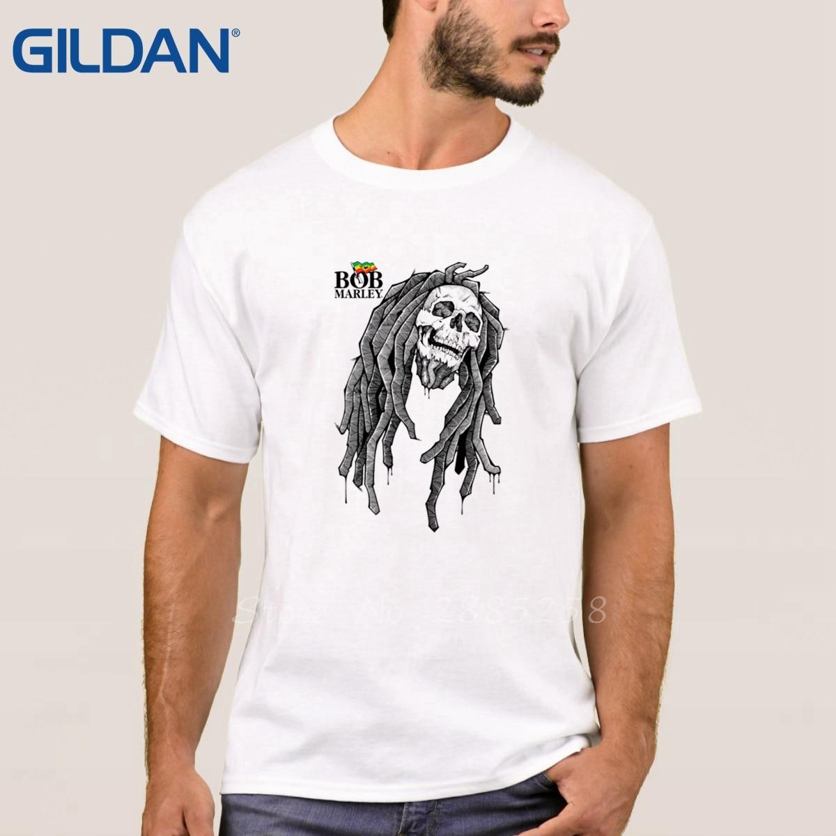 6c013702ff7 Bob Marley Reggae Rasta Tank Style T Shirts Black 100% Cotton Plus Size Tee  Shirt Printed Cloth Short Sleeves Mens-in T-Shirts from Men s Clothing on  ...