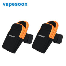 2pcs Electronic Cigarette Vapesoon Multi-function Arm Bag Storage Bag High Quality Arm Bag Sport Bag Vaping Gear Carry Case