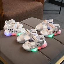 Светодиодный, модный, стильный, Повседневный, дышащий, бренд, обувь для мальчиков и девочек, однотонное освещение, детские кроссовки, благородный, для младенцев, тенниса