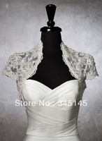 Wedding Dress Jacket Metallic lace bolero accented with crystals and sequins Wedding Accessories Bridal Wraps