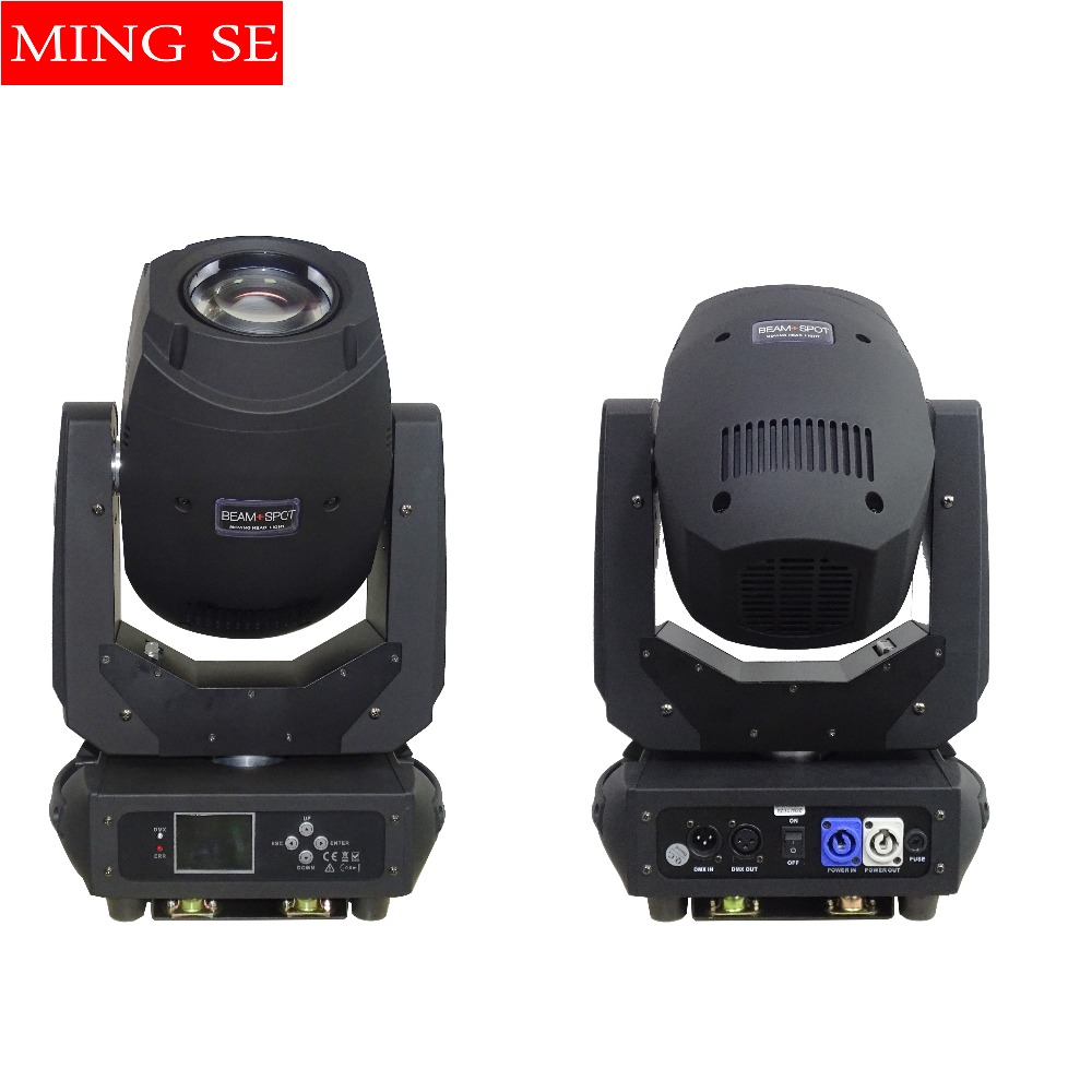 200W 3in1 Beam Led Moving Head Light 6 Gobos 7 Colors Prism Electronic Linear Focus Sound Active Stage lighting quality black automatic voltage regulator avr sx460 for generator free shipping