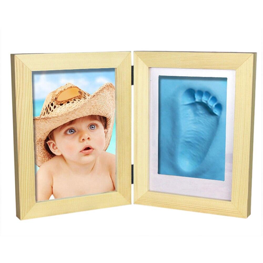 31,6*20,8 cm Baby Bilderrahmen Diy Footprint Handprint Impressum ...