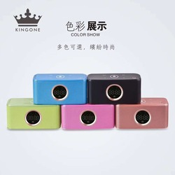 kingone K108 Portable Bluetooth Speaker Super Bass Wireless Stereo Speakers Support TF AUX mirror Alarm Clock for Phone Computer