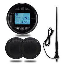 Marine-Boat Speaker Audio-Bluetooth-Radio SPA Stereo Waterproof Motorcycle FM for Outdoor