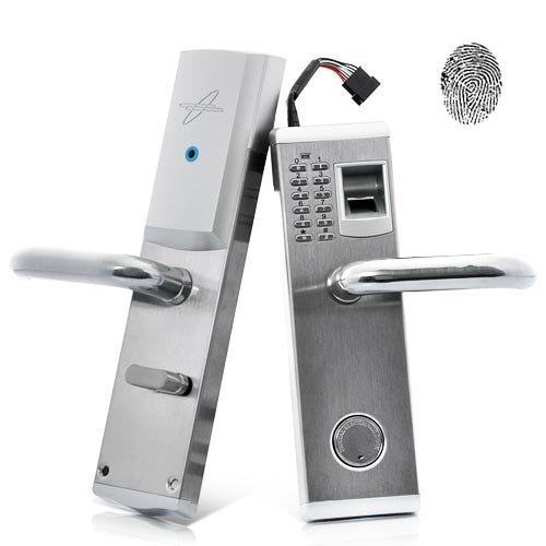 Heavy Duty Stainless Steel Biometric Fingerprint Door Locks Deadbolt Features Mechanical Key Password Digital Code Keyless Lock new sus 304 stainless steel atresia mortice channel invisible locks corridor privacy lock deadbolt invisible door locks f16