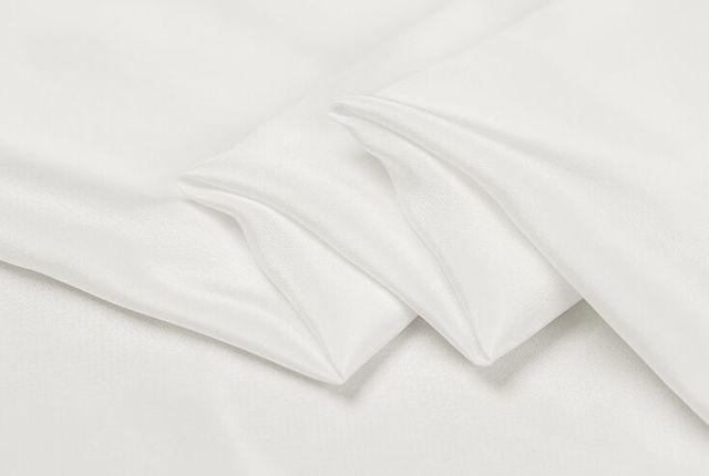 Howmay 100% pure silk fabric crepe de chine 12m m 16m m 45