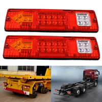 Car Styling 2X 19 LED Energy Saving Trailer Truck ATV VAN Rear Tail Turn Signal Stop