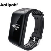 Aaliyah K1 Smart Wristband Watch Heart Rate Monitor Fitness Tracker IP68 Waterproof Bluetooth Bracelet Passometer iphone Android