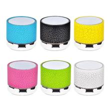 все цены на Mini Portable Wireless Loudspeaker Bluetooth Outdoor 3.5 mm LED Speaker With Subwoofer Support TF Card/U Disk/AUX Music Player онлайн
