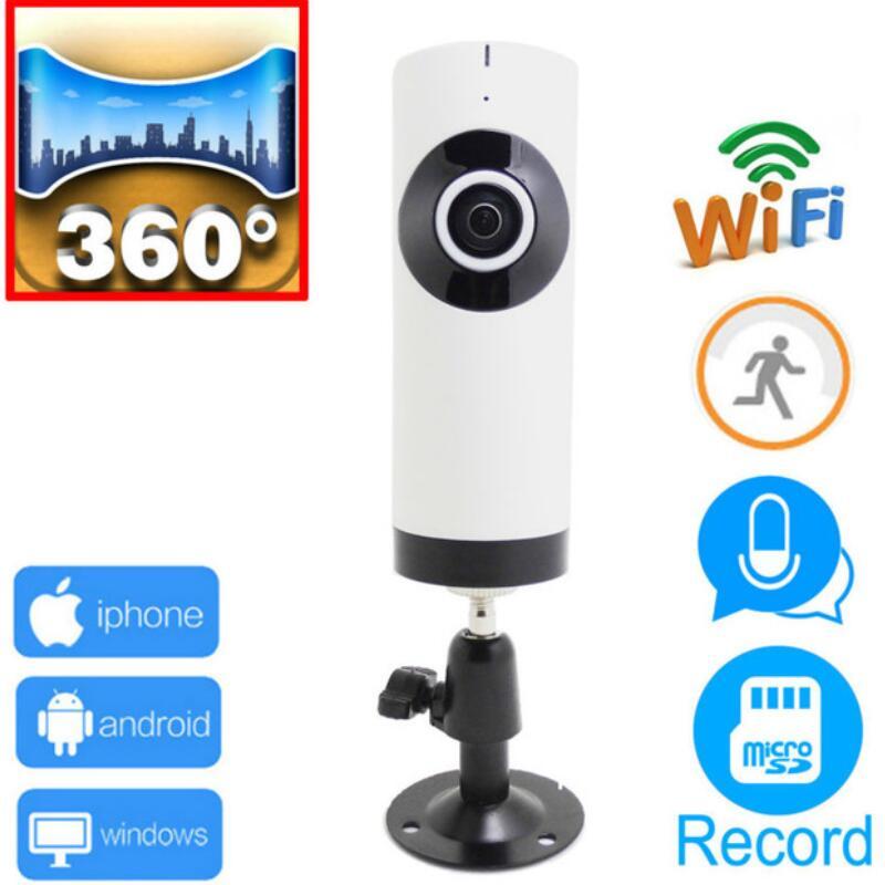 ip camera wifi 720p panoramic 360 panorama cctv security mini wireless ipcam camaras de seguridad Support micro sd card record