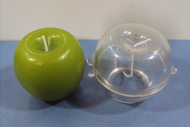 Apple Form Kerze Für Handgefertigte Kaarsen Velas Modell Haus & Garten Diy Kerzenherstellung Kerze Modell