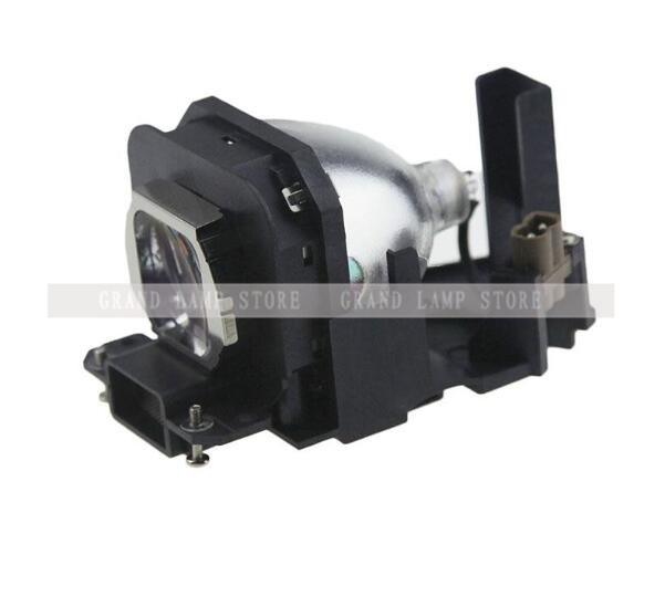Compatible Projector Lamp ET-LAX100 with housing for PANASONIC PT-AX100E/AX200E PT-AX200 PT-AX200U/AX100U/PT-AX200U Happybate compatible bare projector lamp bulb et lax100 for panasonic pt ax100 pt ax100e pt ax200 pt ax200e pt ax200u 120 days warranty