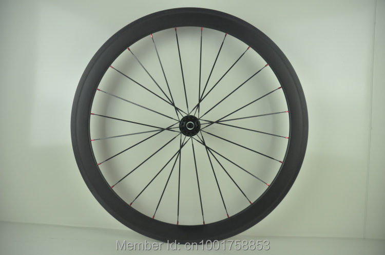 1pcs New 700C 50mm clincher rim Road Fixed Gear bike T1000 3K UD 12K full carbon bicycle wheelset Free shipping track frame fixed gear frame bsa carbon 1 1 2to 1 1 8 bike frameset with fork seatpost road carbon frames fixed gear frameset