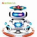 Robô de Brinquedo do bebê Animais Brinquedos Eletrônicos Para Crianças de Dança Dinâmica HT219200WH MusicToys Falando Hamster Bonito Presente Lâmpada Luz Branca