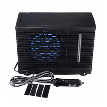 Car Portable 12V Mini Air Conditioner Evaporative Water Cooler Cooling Fan