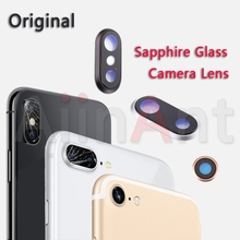 Sapphire Crystal Back Rear Camera Glass Ring For iPhone 7 8