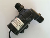 12V Brushless DC Pump 800/800A G, 5pcs/ Lot, 1000LPH 3.8M, Submersible, for Garden Fountain Cooling SYS Water Circulating