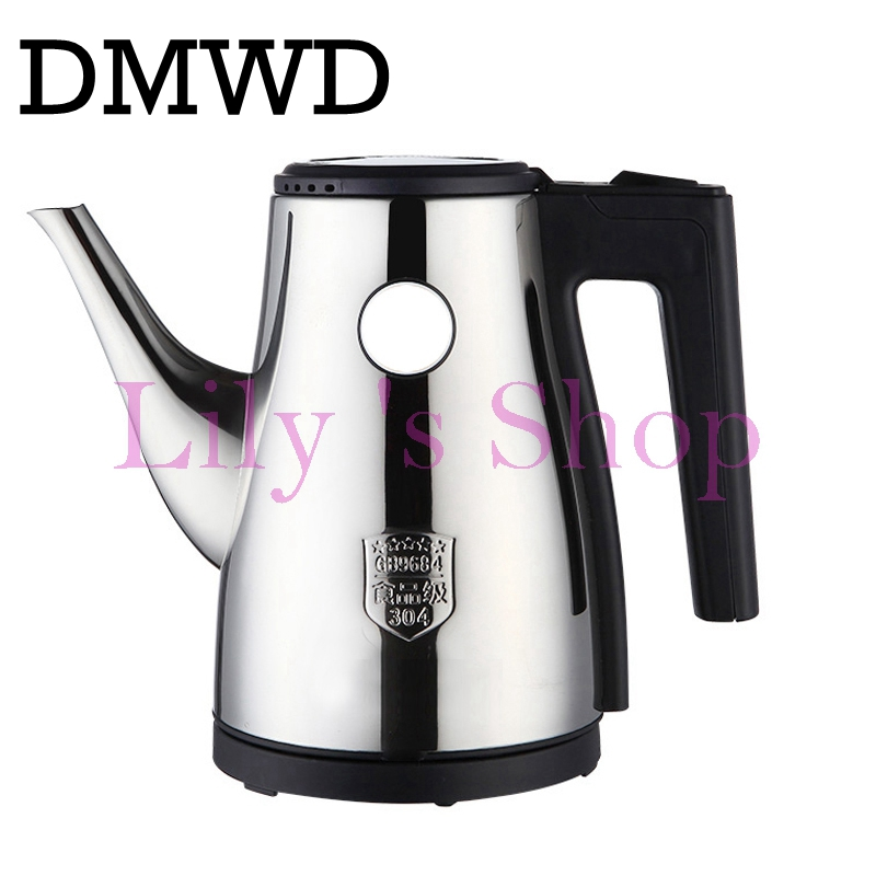 1.2L Split Style Stainless Steel Quick water Heating kettles mini Auto Electric Kettle tea Pot Strong Packing EU US plug 850W electric kettles concealed stainless steel heating element fast boil water teapot samovar teaculture 1 7l