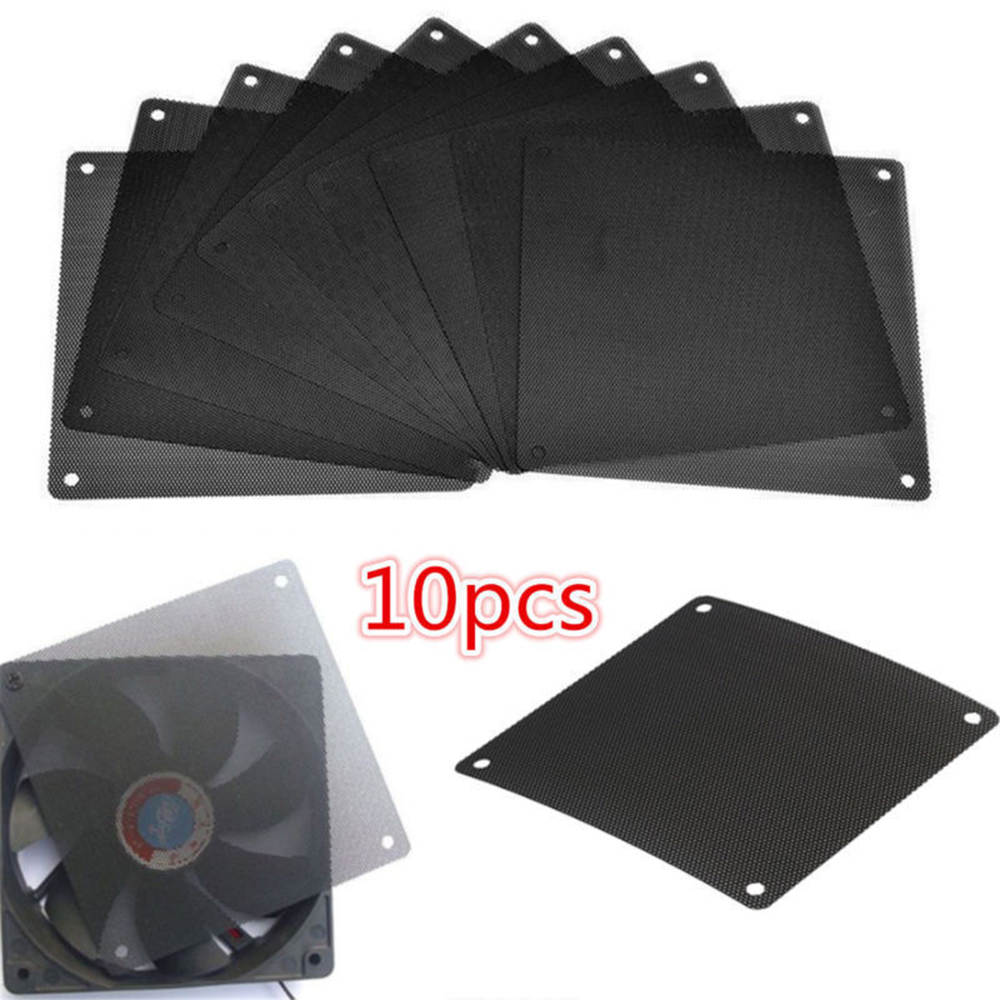 Imparcial 10 Piezas 120x120mm Para Ordenador Pc Refrigerador A Prueba De Polvo Cubierta Del Ventilador Filtro De Polvo Una Gama Completa De Especificaciones