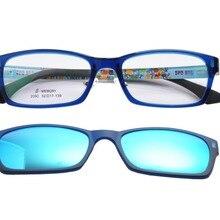 DEDING модные очки с магнитным зажимом на солнцезащитные очки для женщин Близорукость поляризованные очки для вождения солнцезащитные очки для клип на двойного назначения DD1416
