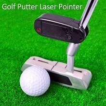 Черная лазерная указка для клюшек для гольфа, инструмент для тренировки, аксессуары для гольфа