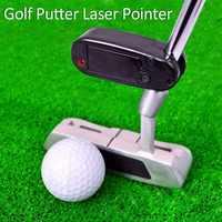 Pointeur Laser noir Putter de Golf mettant le correcteur de ligne de visée pratique de Golf améliorer l'aide outil d'entraînement accessoires de Golf