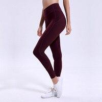 4 season seamless women leggins sportswear Joker sports fitness pants Push up high waist workout leggings black running Gym