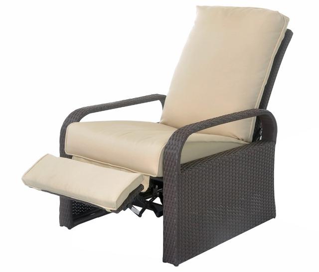 HLC Amortiguado Asiento Del Sofá de Mimbre PE Muebles de Jardín Patio Al Aire Libre