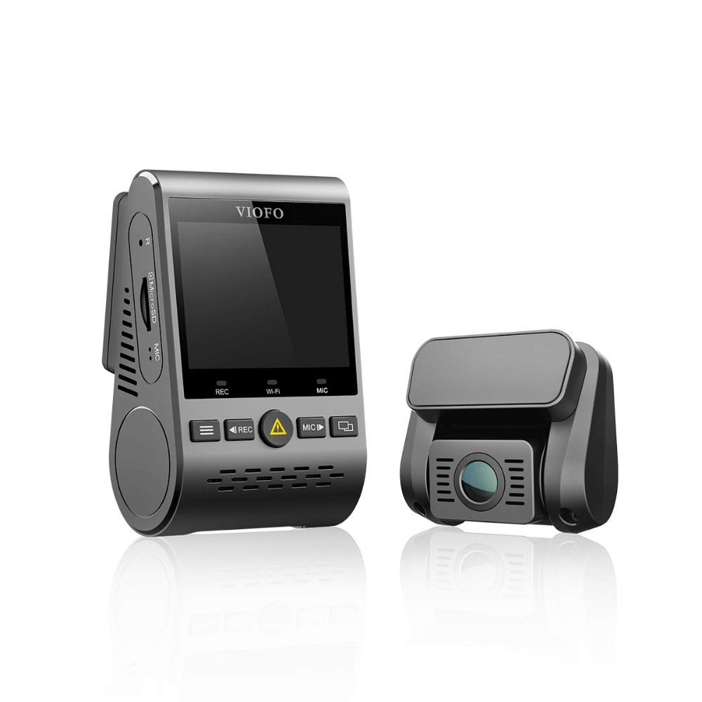 VIOFO A129 5 Duo Duplo Canal ghz Wi-Fi Câmera DashCam Traço Full HD Sensor IMX291 Dupla HD 1080 p Car DVR GPS Opcional