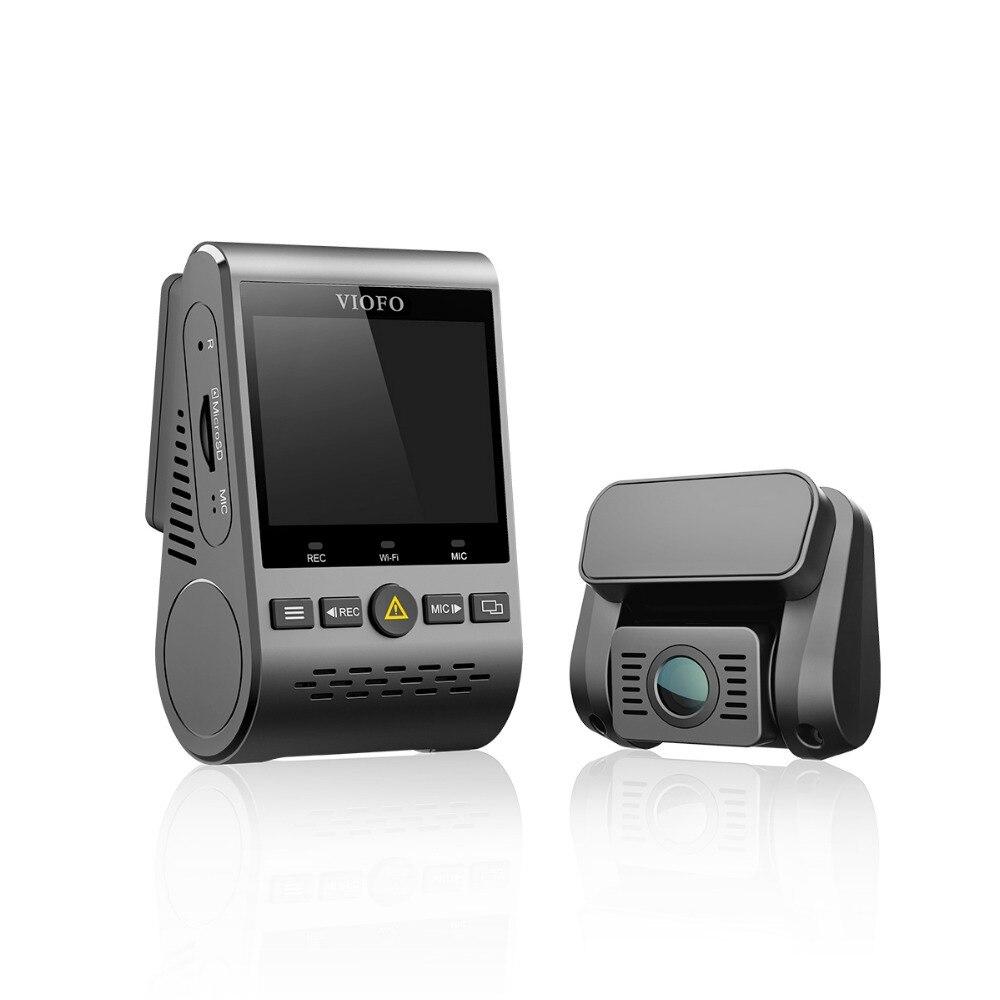 VIOFO A129 Duo Double Canal 5 ghz Wi-Fi Full HD Caméra de tableau de Bord DashCam Capteur IMX291 HD Double 1080 p Voiture DVR GPS En Option