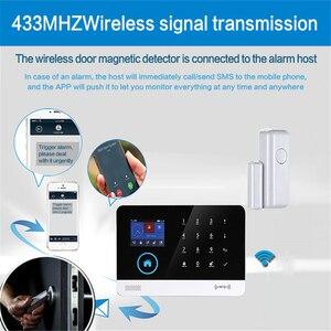 Image 4 - WiFi 433mhz sırasında kablosuz akıllı açık pencere ev Alarm App bildirim uyarıları