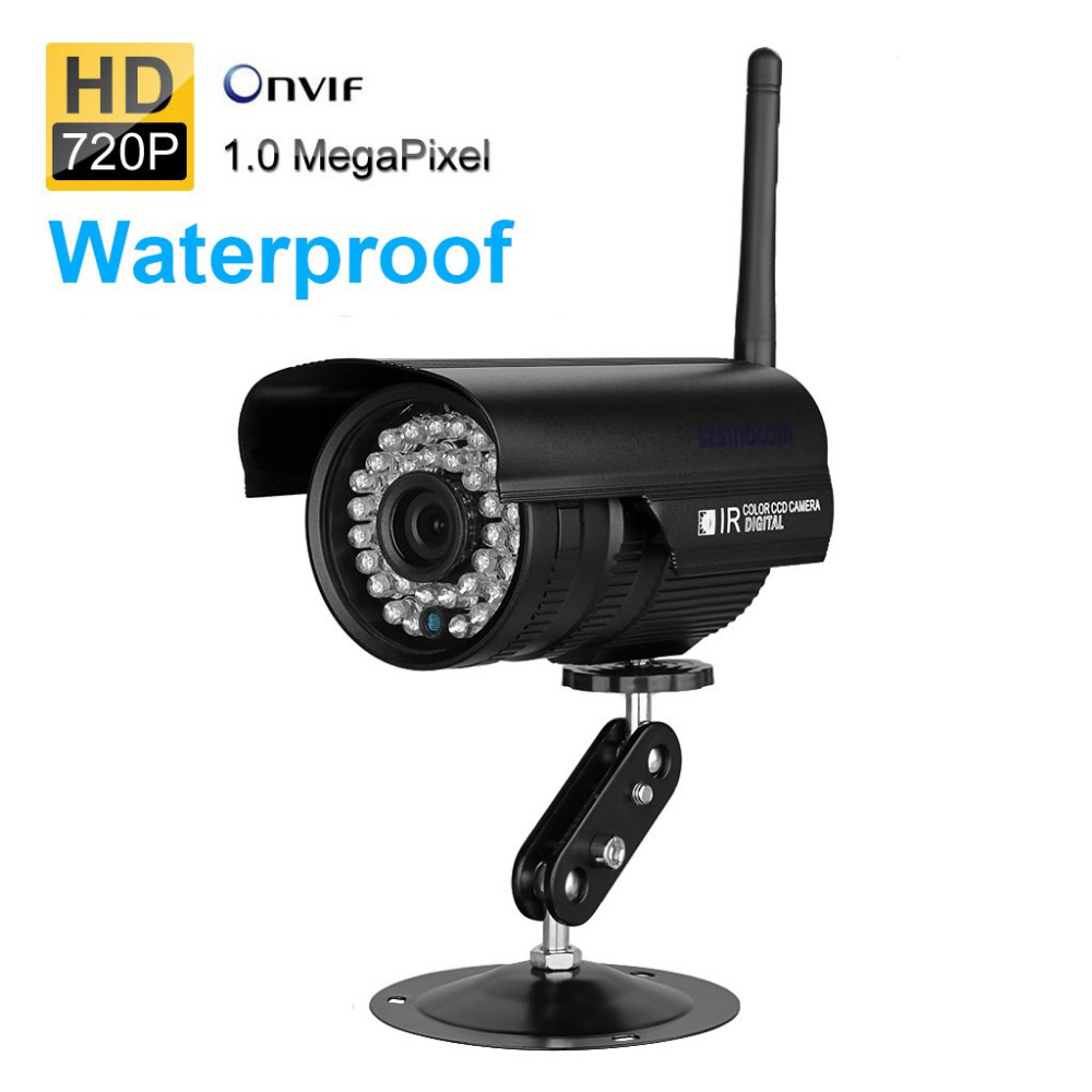 Szsinocam HD 720P Wireless IP Camera WiFi Waterproof Infrared Camera Motion Detection Onvif CCTV Surveillance Camera