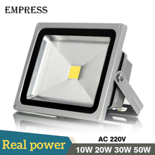New Led Flood Outdoor Floodlight Lamp 10W 20W 30W 50W 220V LED Flood light street lamp refletor foco led Spotlight exterior IP65