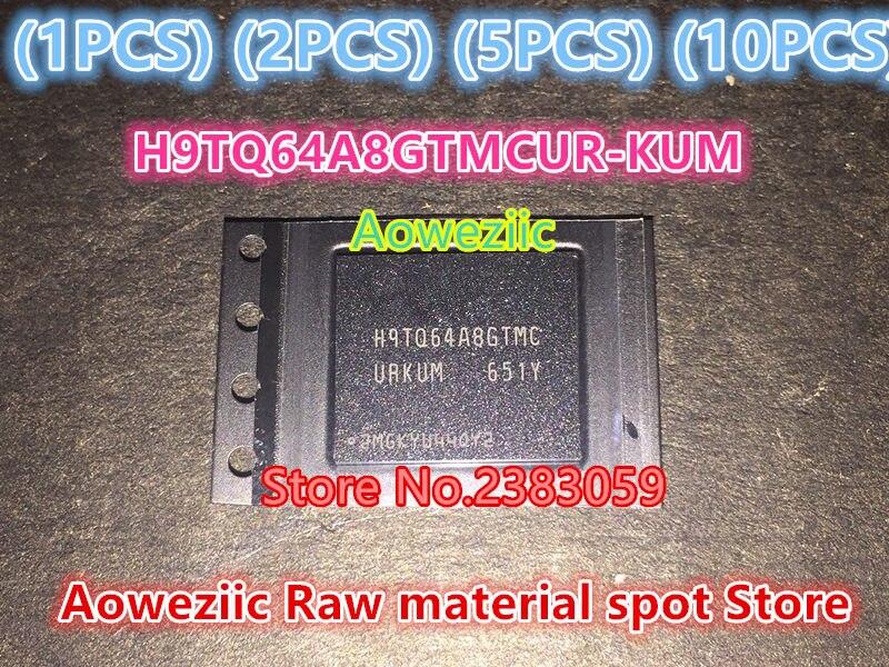 Aoweziic  (1PCS) (2PCS) (5PCS) (10PCS)100% new original import H9TQ64A8GTMCUR-KUM BGA memory chip  supply  H9TQ64A8GTMCUR KUM