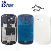 New I8190 Full Housing For Samsung Galaxy S3 Mini GT I8190 Back Battery Cover Front Middle