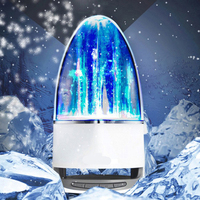 Fashion Subwoofer LED Music Fountain Water Dance Bluetooth Speaker With TF Card Slot Stereo Bass And