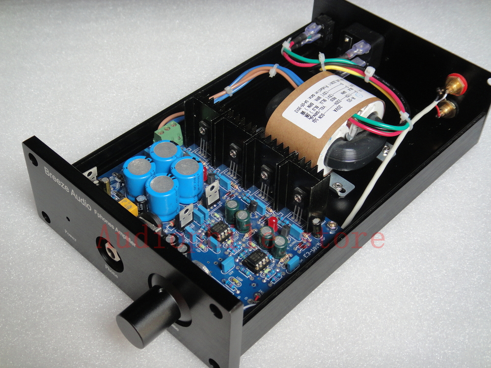 Finished E3 headphone  clone A1 amplifier class A by weiliang