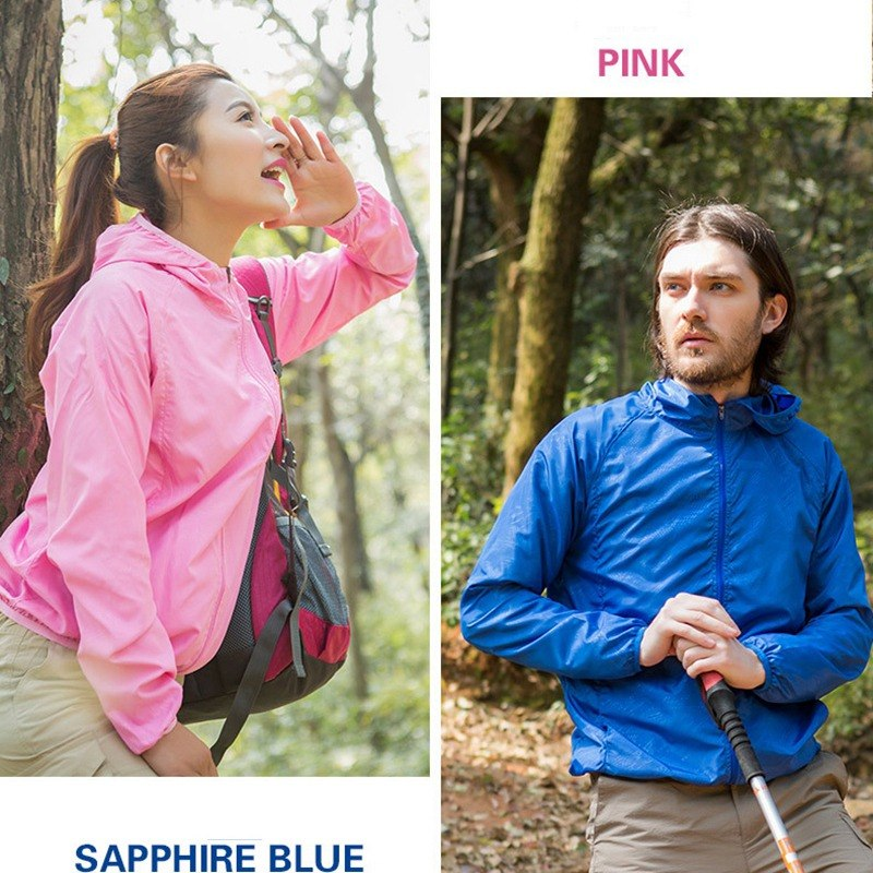 NIBESSER 2019 Sports Windproof Quick Dry Running Jacket Sunshade Breathable Rain Jacket Top Candy Color Windproof Coat