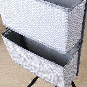 Image 5 - คุณภาพสูง 4 ช่องด้านหลังข้างเตียงตู้ตู้เสื้อผ้าแขวนกระเป๋าจัดเก็บสำหรับ Sundries ชุดชั้นในของเล่น