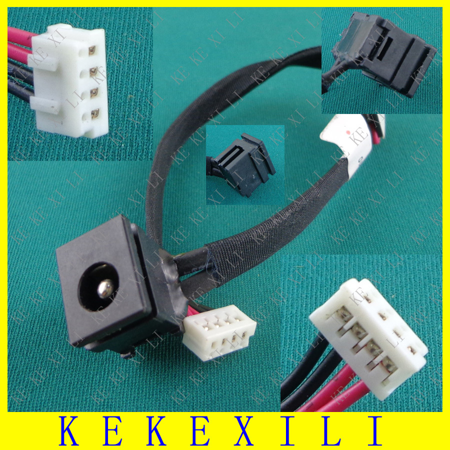 Laptop DC JACK For Toshiba Satellite AC DC POWER JACK HARNESS CABLE PLUG IN SOCKET