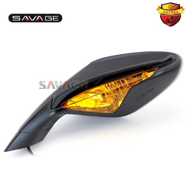 В МВ Агуста Ф3 800/675 2012-2014 мотоцикла левая сторона заднего вида зеркала заднего вида с сигналами поворота шоры