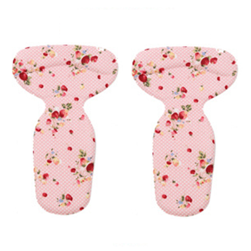 VSEN silicone gel insoles for shoes pads foot care high heel protector cushion shoe insoles inserts (Pattern pink) eleft foot care toe dance protector insoles half pad pads sponge silicone gel support ballet shoes covers high heel shoe women